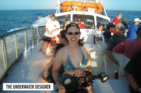 Jennifer Idol ~ The Underwater Designer